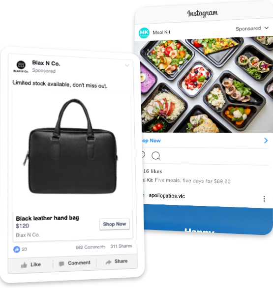 Sell More Products with Facebook Ads & Instagram Ads