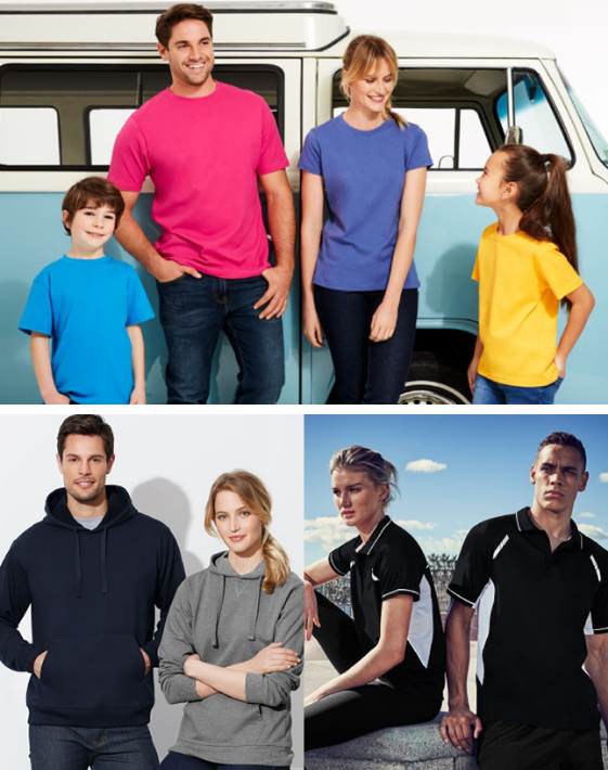Promotional apparel & branded activewear